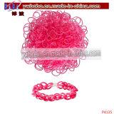 Il telaio di gomma dei punti dei regali promozionali di promozione lega l'accessorio del bambino (P4135)