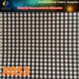 Проверка холстинки полиэфира. Товары Promt ткани проверки (X051-054)