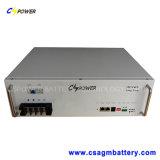 Pacchetto Uifp 24V 60ah 2u della batteria di litio per la spina calda del Governo di telecomunicazione da 19 pollici