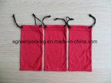 Bolsa 100%Polyester de los vidrios de Microfiber (verde/roja/negro/amarillo)