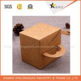 Рециркулированные высоким качеством коробки цветастого печатание роскошные бумажные