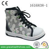 Здоровье фиоритуры обувает ботинки ботинка цвета детей ортоые