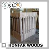 Cerca de madeira da escada de Soild do estilo europeu