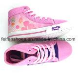 最も新しいカスタマイズされた子供の注入のズック靴の偶然靴(FFHH1230-06)