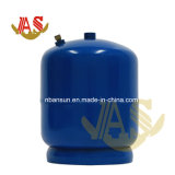 bombola per gas di disegno di sicurezza e di modo di pressione bassa 2.5kg, mini bombola per gas vuota portatile di GPL con il bruciatore nel Kenia, Tanzania