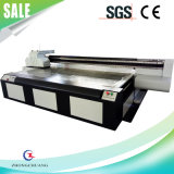 3D 벽지를 위한 6*10 발 큰 체재 UV 평상형 트레일러 인쇄 기계