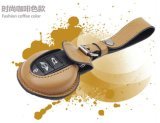 Brandnew кожаный материальным защищенный ключом мешок ключа автомобиля типа луча кофеего миниый для миниого бондаря F56 F55 только (1 PCS/set)
