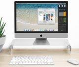 """Acrylmonitor-/Laptop-Standplatz, 20.75 """" W X 3.675 """" H X 7.5 """" D"""