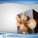 Steifer Papierverpackengeschenk-Nahrungsmittelschmucksache-kosmetischer Luxuxkasten (XC-hbg-013A)