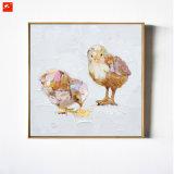 Новые 2 улицы стены искусствоа части картины маслом цыпленоков