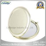 Le miroir de contrat de mode en métal, Metal le miroir compact