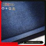 Tissu de tricotage Hotsale de denim de poste enregistré par couleur bleue