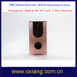 Hot Sale WiFi Visual Intercom Doorbell / Video Door Phone / IP Wi-Fi Camera \ para Smart Mobile Phone