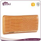 Оптовое кожаный портмоне муфты фирменного наименования портмон и бумажников женщин
