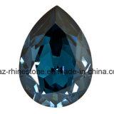 4mm 몬태나 수정같은 돌 모조 돌 Swaro 유리제 모조 다이아몬드 (FB ss16 몬태나)