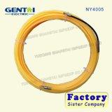 пулер кабеля белизны 4mm*20m пластичный Nylon