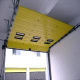 Porte industrielle de levage verticale lourde de contrepoids