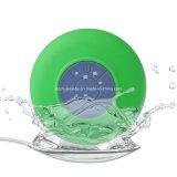 Mini altavoz impermeable de Bluetooth con la taza de la succión