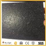 Pflasterung-Stein-Granit-Wand-Fliese des Schwarz-G684, Granit-Fliese mit lederner Oberfläche