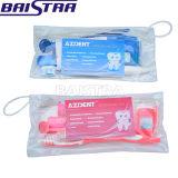 China-blaue Zähne, die zahnmedizinischen oralen Sorgfalt-Installationssatz weiß werden