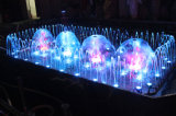 Fonte musical da dança da fonte de água da fonte do jardim