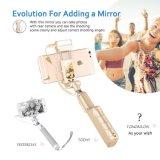 Licht 360 Grad-LED und hinterer Spiegel Selfie Stock