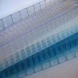 Folha desobstruída altamente transparente da luz solar do policarbonato de Bayer