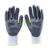 Нитрил покрыл перчатку работы безопасности труда производственных рабочих защитную (D78-G5)