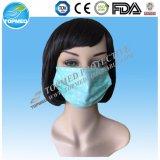 Устранимый защитный голубой лицевой щиток гермошлема белой бумаги для фабрики еды