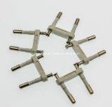南アフリカ共和国のプラグの挿入/Indiaの挿入プラグ、プラグの挿入または3つのピン電気プラグの挿入