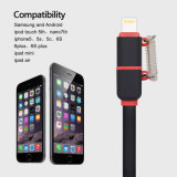 Wholesales Lightning Cabo USB com Micro USB Connector Charge Cable