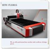 Laser-Ausschnitt-Maschine des Metall500w mit Bescheinigung des Geschmacksmusters