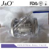 3PC ensanchó vávula de bola del extremo con el postizo de montaje directo JIS 10k