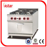 Combinación de gas Horno / Restaurante Equipo de cocina / Equipo de cocina