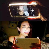2017 novos iluminados iluminam acima a caixa do diodo emissor de luz Selfie do caso para o iPhone 6plus 5.5inch