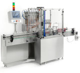Forte etichettatrice liquida della macchina di rifornimento del riempitore corrosivo lineare automatico