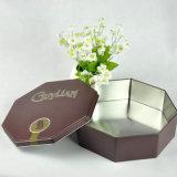 Octangon Form-Schokoladen-Zinn-Kasten-Geschenk-Blechdose