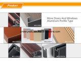 Superfície durável de transferência da grão da madeira de gabinete da sala de visitas da combinação do gabinete da tevê do alumínio
