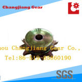 Chain Gear Stainless Steel Zinc Standard B Style Stock Sprocket