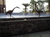 Zwaan 2, de OpenluchtZwaan van Waterscape van het Brons van het Decor van Waterscape van de Tuin