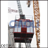 Gaoli Scq100/100 doppelte Rahmen-magere Aufbau-Hebevorrichtung