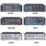 Canaletas do ruído 80W 2 do exportador de Guangzhou amplificador profissional do equalizador da potência das baixas