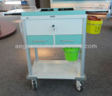 AG-Mt033 Best Selling Tratamento de aço inoxidável Medical Hospital Trolley