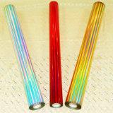 La película caliente de la lámina para gofrar del laser solicita texto/artes/lápices/palillos de madera