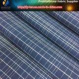 Почищенная щеткой ткань пряжи полиэфира покрашенная, мягкая ткань проверки ворсины для одежды