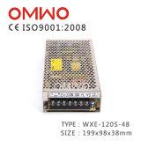 Wxe-120s-48 Ein-Output120w 48V Wechselstrom zur Gleichstrom-Schaltungs-Stromversorgung
