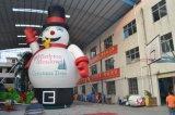 Ballon au sol de grand bonhomme de neige gonflable à vendre