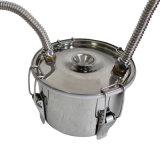 Il barile di colpo di Kingsunshine 10L/3gal, rama il distillatore d'ebollizione ricoperto, vapore alcool/acqua/Hydrolat di uso personale