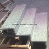 China lustrou G603, luz de Padang, escada cinzenta branca do granito de Padang para a etapa/montante