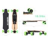 Koowheel 4 Rad elektrisches Longboard Skateboard mit schwanzlosem Naben-Verdoppelungmotor
